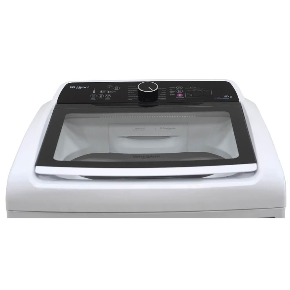 Fortaleza con capacidad turbo y lavado superior en el portafolio de productos Whirlpool.