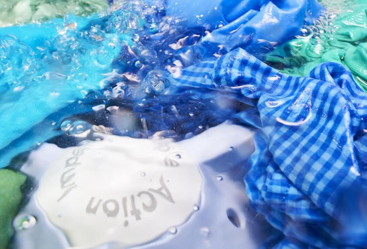ilustración de proceso de lavado