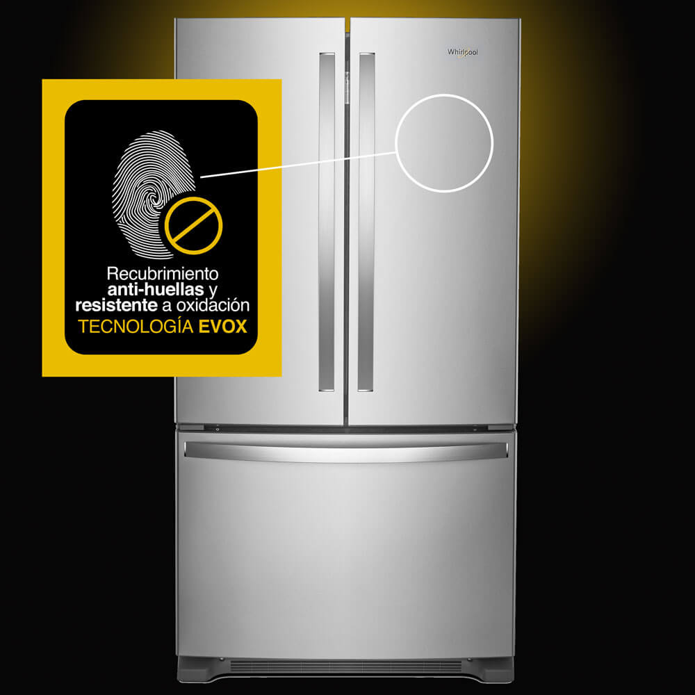 EVOX Platinum system anti-fingerprints