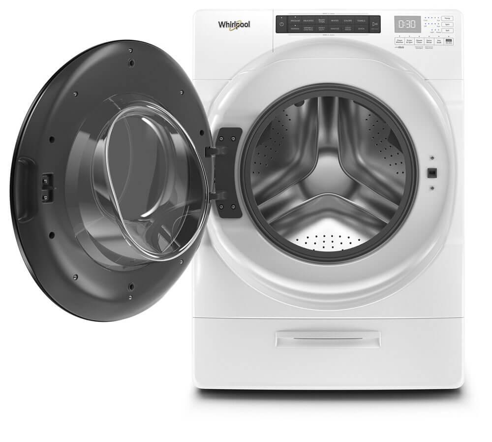 Parecería una nave espacial pero es en realidad una lavadora, y es la mejor.