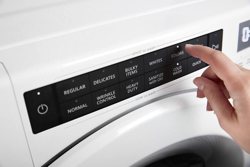 Nunca habías activado una lavadora tan rápido.