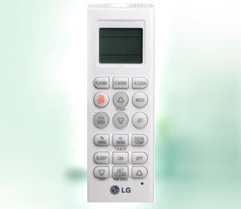 lg plasma gold air conditioner remote manual