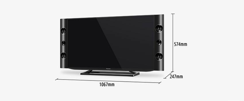 tv 40 101 cm led panasonic 40sv7 full hd ktronix tienda. Black Bedroom Furniture Sets. Home Design Ideas