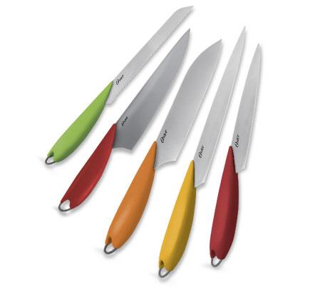 Set de Cuchillos OSTER Multicolor 7 Piezas