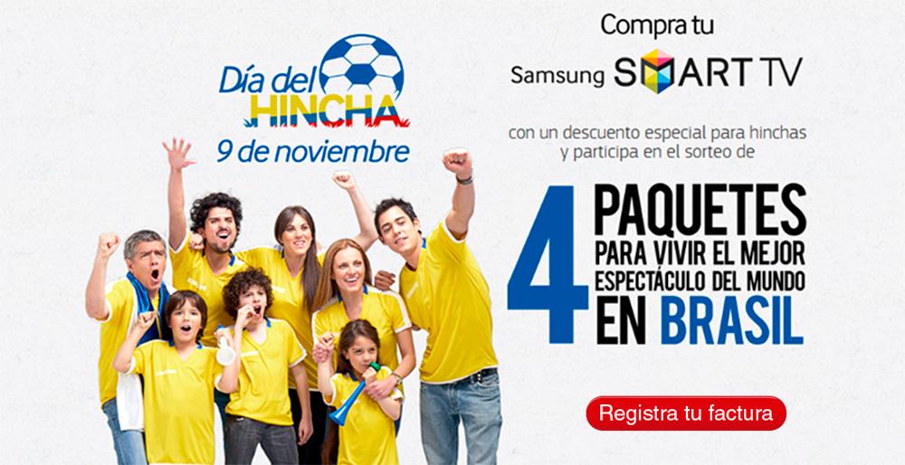 Día del hincha Samsung