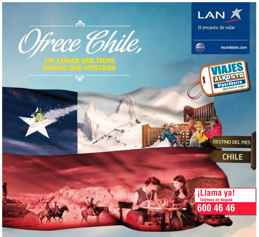 Viaje a Chile con viajes alkosto