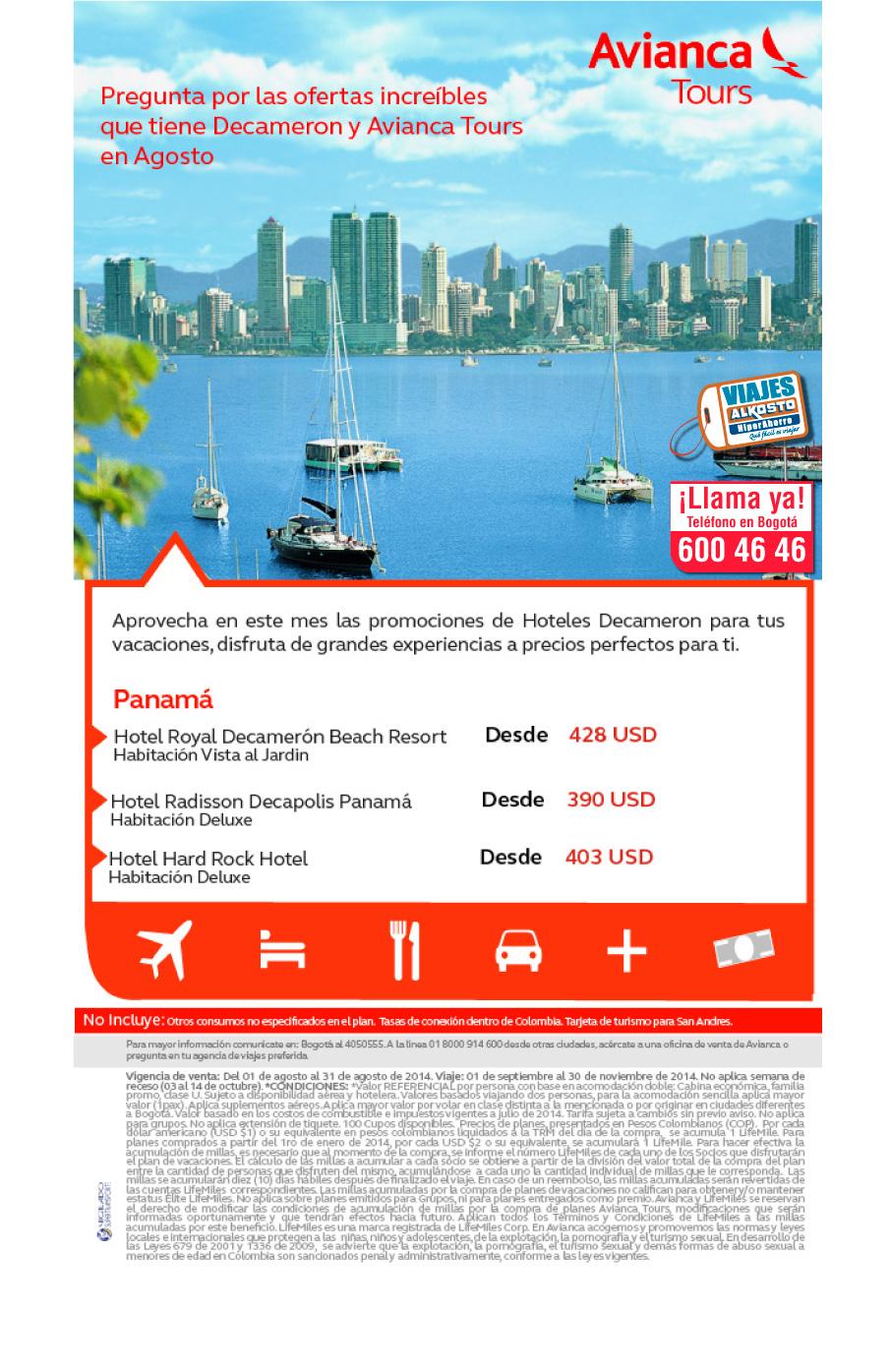 Viaje Panamá con viajes alkosto