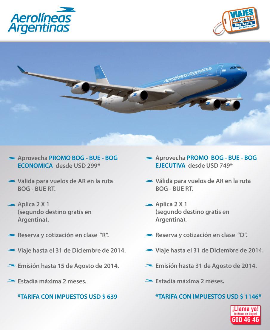 Promo viaje argentina en viajes alkosto