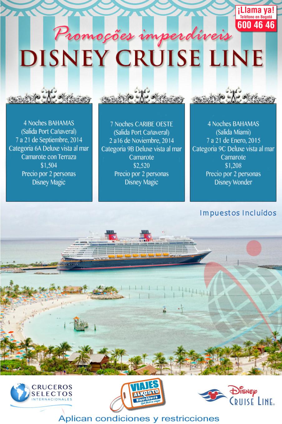 Viaje Crucero Disney