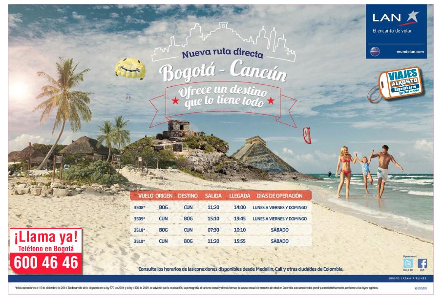 Viaje Cancún Octubre con viajes alkosto