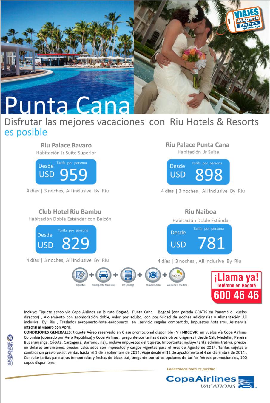 Viaje a Punta Cana con viajes alkosto