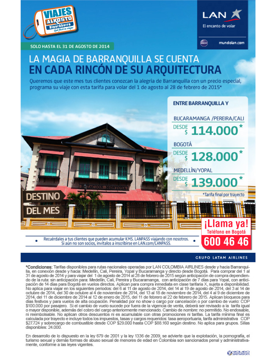 Viaje a Barranquilla