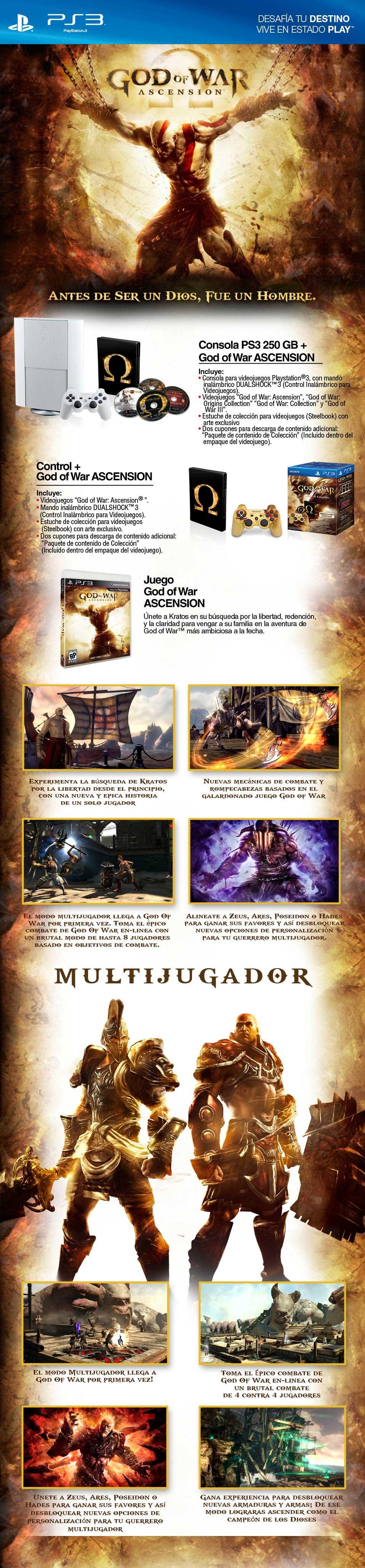 Compra Ya! God Of War Ascension PS3