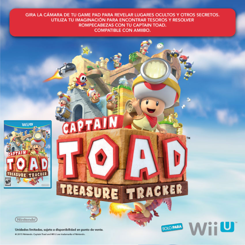 captain toad wiiu