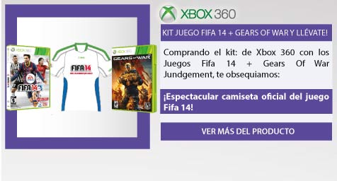 Kit juego Fifa 14 + Gears Of War y llévate!