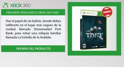 PREVENTA Videojuego XBOX 360 Thief