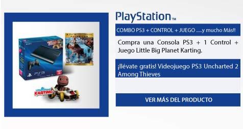 COMBO PS3 + CONTROL + JUEGO .....y mucho Más!!