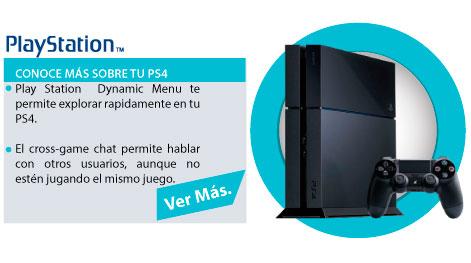 CONOCE TU PS4