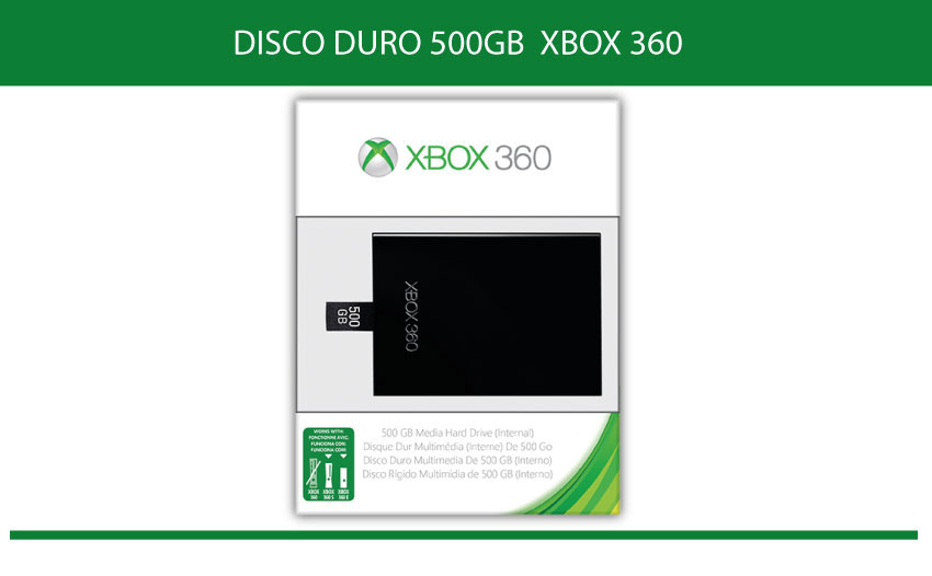 Disco duro 500 GB XBOX 360