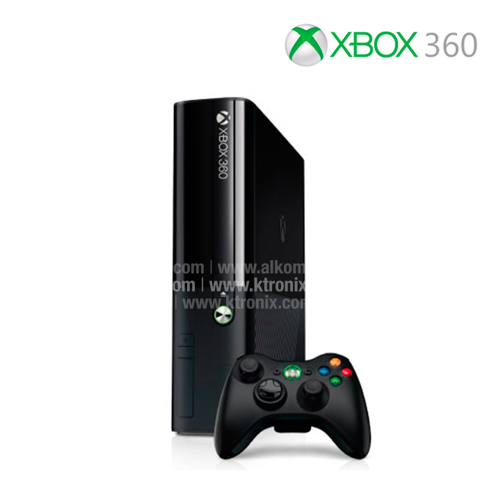 consola xbox 360 4gb control inal mbrico ktronix tienda online. Black Bedroom Furniture Sets. Home Design Ideas