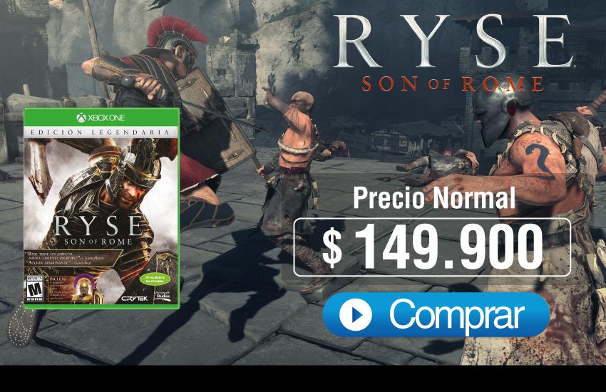 videojuego Ryse Son of Rome XBOX ONE
