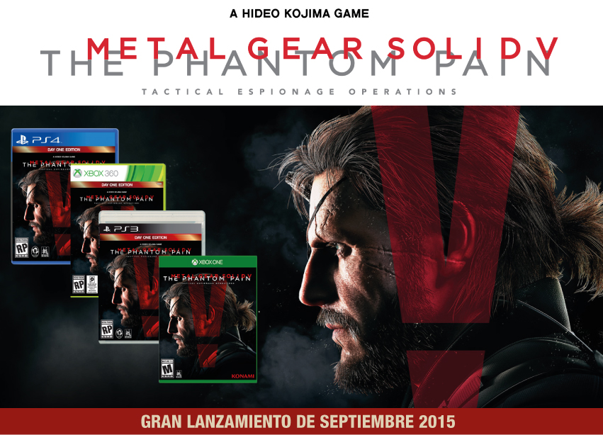 Videojuego Metal Gear Solid Phantom Pain