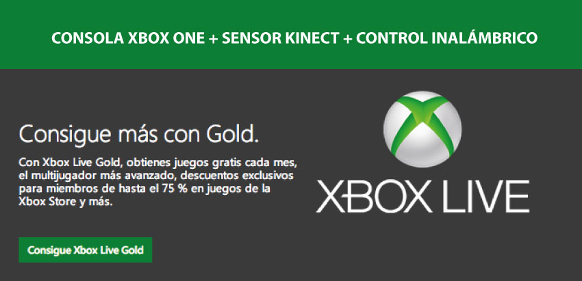 xbox one + sensor kinect