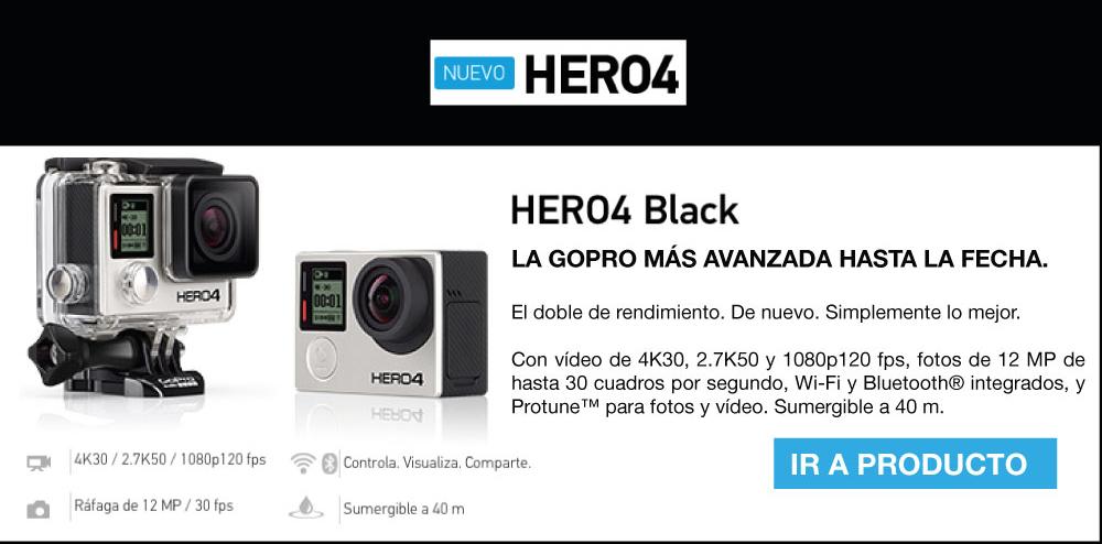 Minisitio GoPro HERO4 Alkosto Tienda Online
