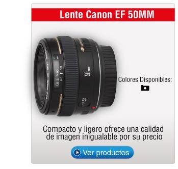 Lente Canon EF 50MM
