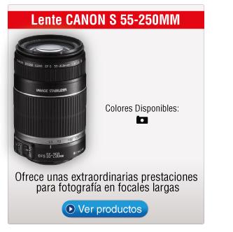 Lente CANON S 55-250MM
