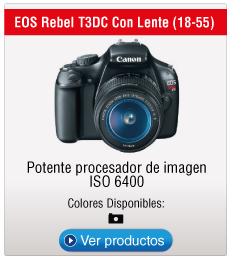 EOS Rebel T3DC Con Lente (18-55)