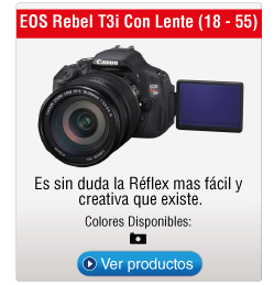 EOS Rebel T3i Con Lente (18 - 55)
