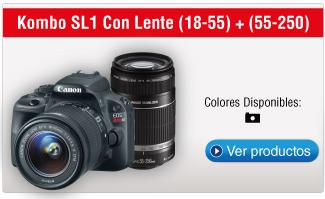 Kombo SL1 Con Lente (18-55) + (55-250)
