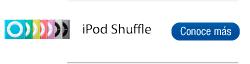 Encuentra aquí las referencias de iPod Shuffle que tenemos disponibles
