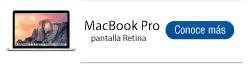 Encuentra aquí todas las referencias MacBook Pro con pantalla Retina