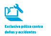 Exclusiva Poliza con daños y accidentes