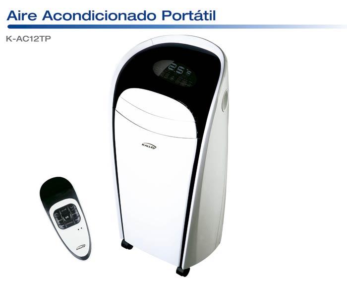 Aire acondicionado portable kalley k ac12tp alkosto tienda for Aire acondicionado kosner opiniones