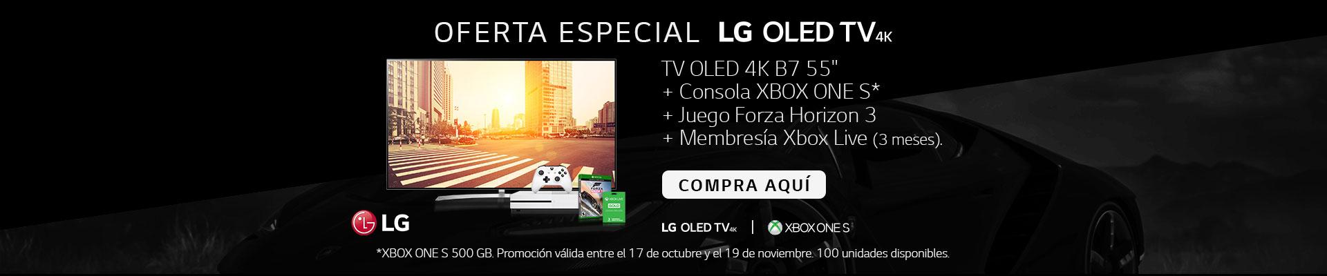 PPAL KT-3-TELEVISOR LG+XBOX ONE-TV-OCTU18-20