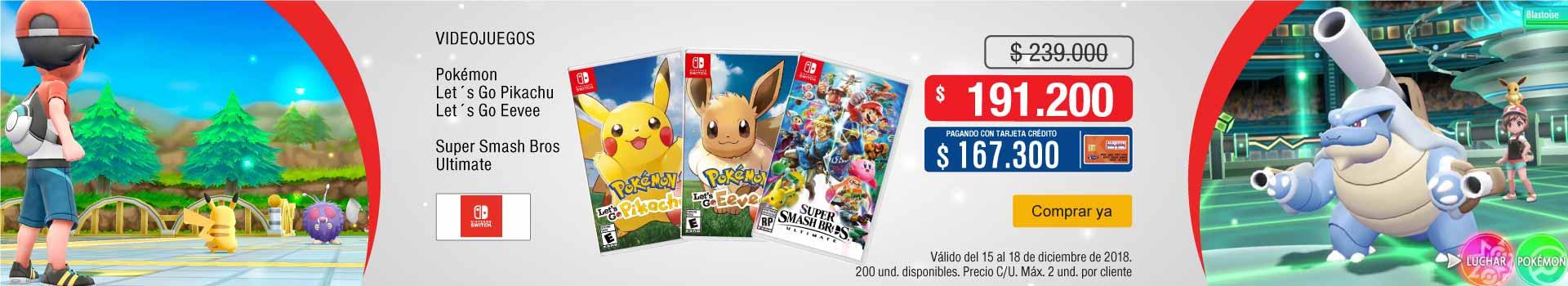 AK-KT-BCAT-3-VIDEOJ-NIN-DCAT-SWITCH-VIDEOJUEGOS-Pokémon-Super- Smash -DICIEMBRE-15