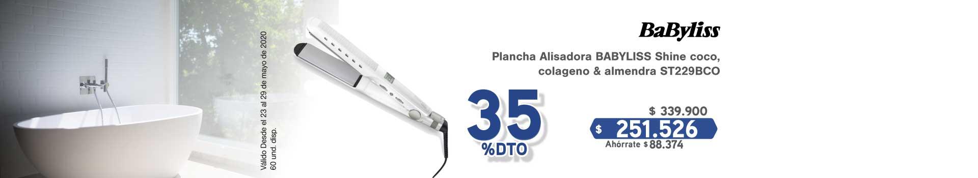 AK-KT-BIGTOP4 PLANCHA BABYLISS PLUS 23 MAYO