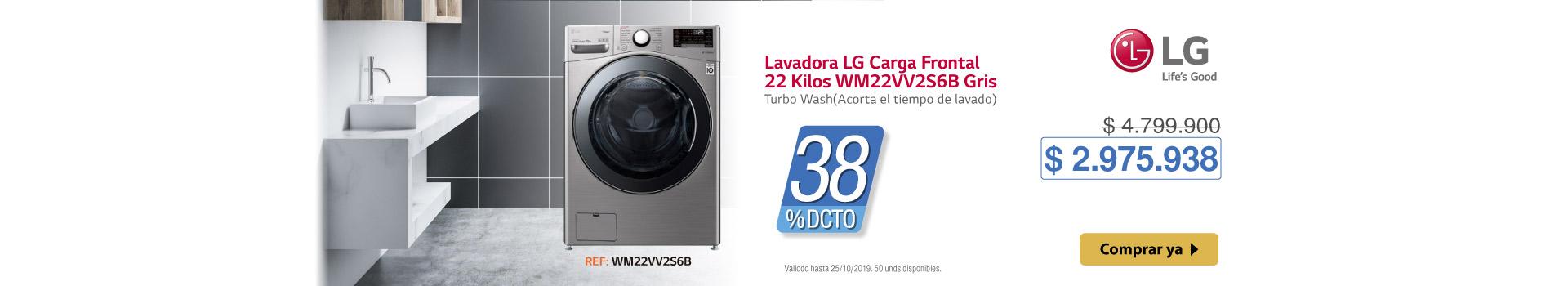 AK-KT LB LG LAVADORA  WM22VV2S6B   BCAT1-LAVA 17 OCT