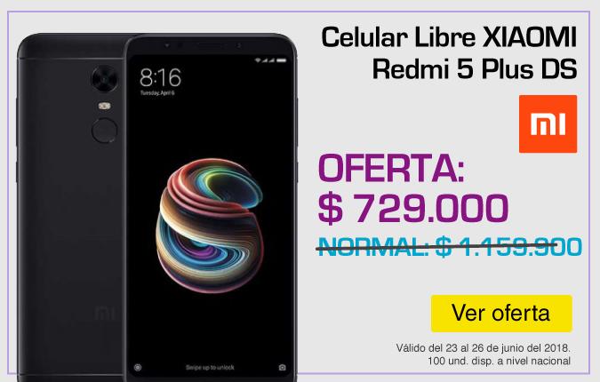 HOME TOP ALKP-1-celulares-Celular Libre XIAOMI Redmi 5 Plus-prod-Junio23-26