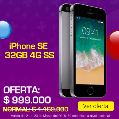 BIG ALKP-1-celulares-iPhone SE 32GB 4G Gris SS-prod-Marzo21-23