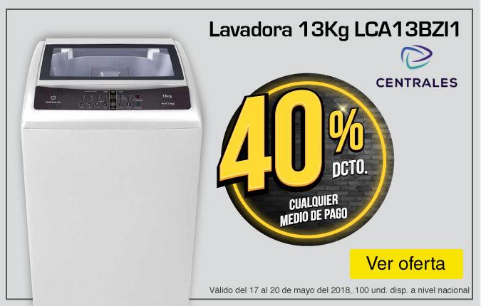 HOME TOP ALKP-2-LB-Lavadora CENTRALES 13Kg LCA13BZI1-prod-mayo17-20