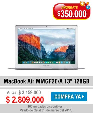 MacBook Air MMGF2E/A 13 128GB - banner oferta
