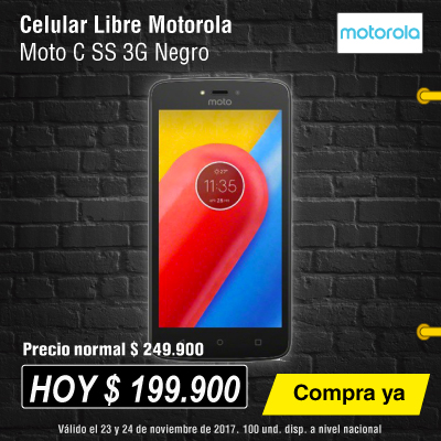 BIG ALKP-5-celulares-Celular Libre Moto C SS 3G -prod-noviembre24