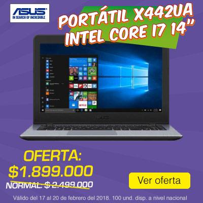 BIG ALKP-3-computadores-Portátil ASUS - X442UA - Intel Core i7 - 14-prod-febrero17-20