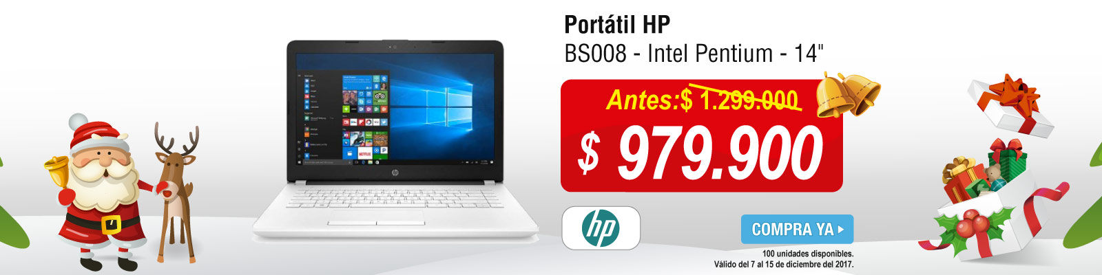 TOP PROMO ALKP-1-computadores-Portátil HP - BS008 - Intel Pentium - 14-prod-diciembre7-15
