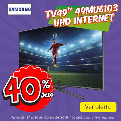 BIG ALKP-6-TV-Tv49 124cm Samsung 49MU6103 UHD Internet-prod-Febrero17-20
