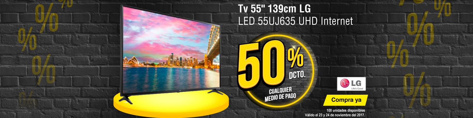TOP PROMO ALKP-1-tv-Tv 55 139cm LG LED 55UJ635 UHD Internet-prod-noviembre23-24